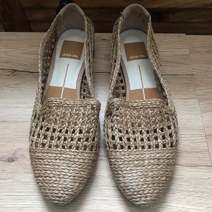 Dolce Vita weaves natural color flats size 6